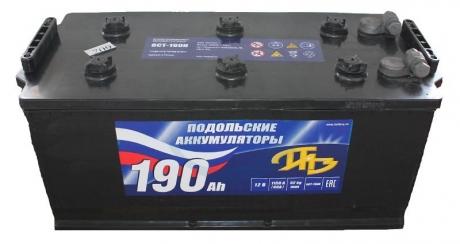 АКБ 6СТ-190 N ПАЗ (Подольск) болт