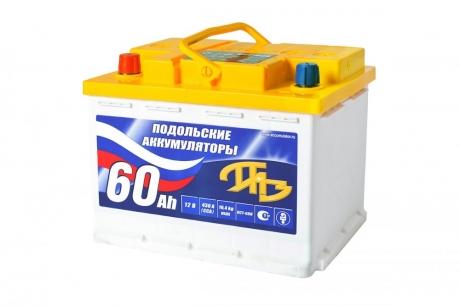 АКБ 6СТ-60 N ПАЗ (Подольск)