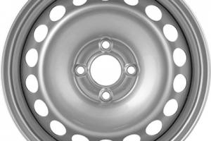 Диск R15  6.0/4*100 ET40 d60.1 MEFRO LOGAN метал.