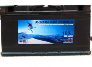 АКБ 6СТ-100  X-STREAM POWER