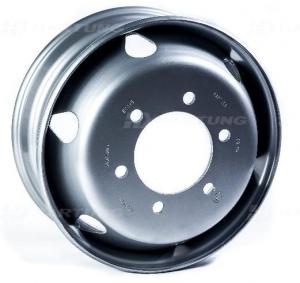 Грузовые штампованные диски  6.75 R19,5  6*222.25  ET135 164 ГАЗон NEXT HARTUNG
