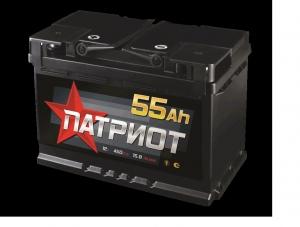 АКБ 6СТ-55 ПАТРИОТ