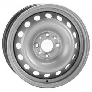 Диск R14  5.5/4*100 ET39 d 56,6 TREBL silver